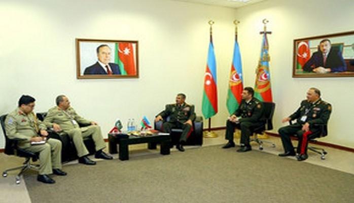 Обсуждены перспективы развития военного сотрудничества между Азербайджаном и Пакистаном