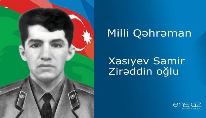 Samir Xasıyev Zirəddin oğlu