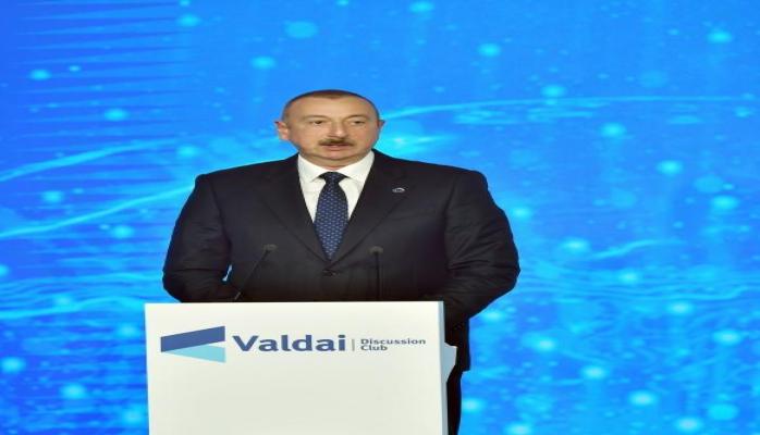 """Azərbaycan Prezidenti: """"Dağlıq Qarabağ xalqı"""" məfhumu mövcud deyil"""