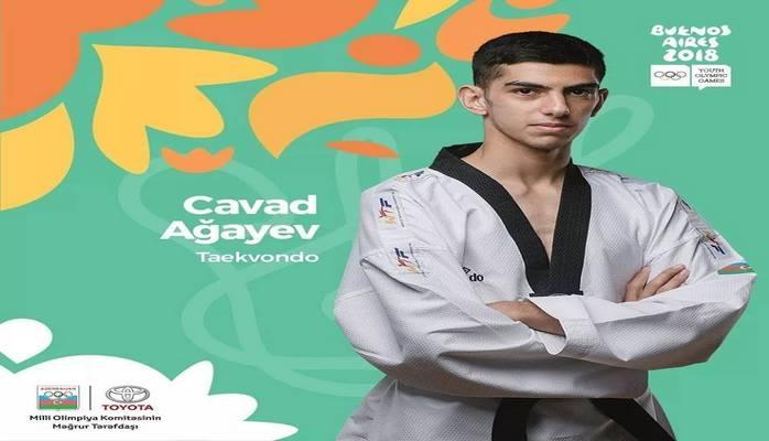 Азербайджанский таэквондист завоевал бронзовую медаль юношеской Олимпиады