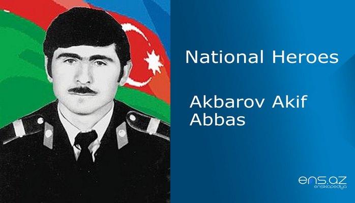 Akbarov Akif Abbas