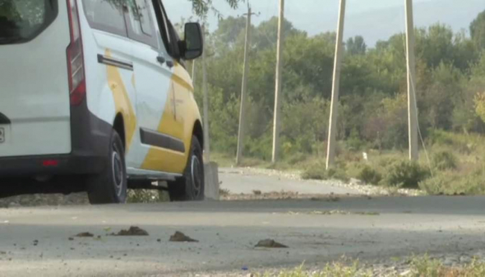 Армянская сторона обстреляла автомобиль азербайджанского телеканала İTV