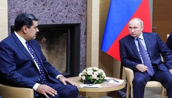 Путин обсудил с Мадуро мировую пандемию