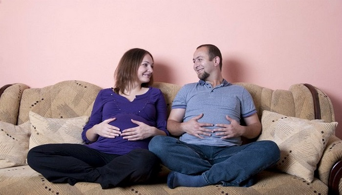 Hamilelik döneminde yalnızca anne değil baba da aşeriyor!Peki, ama nasıl?