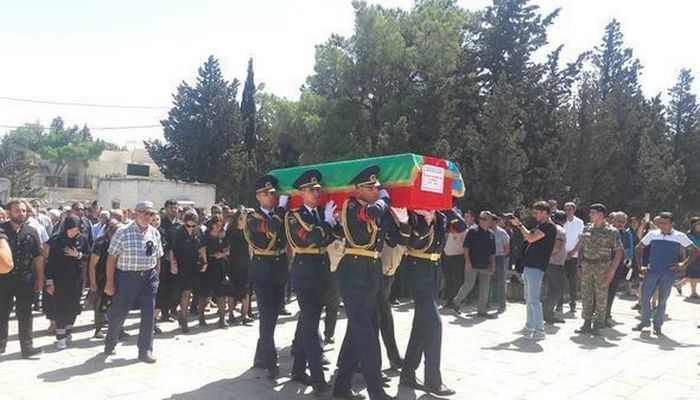 Военный пилот Рашад Атакишиев похоронен