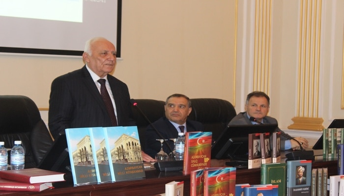 Издания Национальной библиотеки переданы  Институту истории НАНА