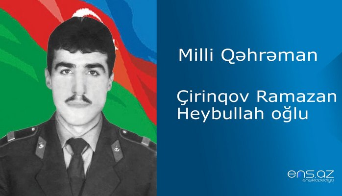 Ramazan Çirinqov Heybullah oğlu