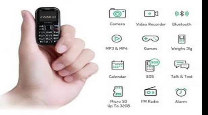 Dünyada ən kiçik telefonun yeni versiyası təqdim edilib