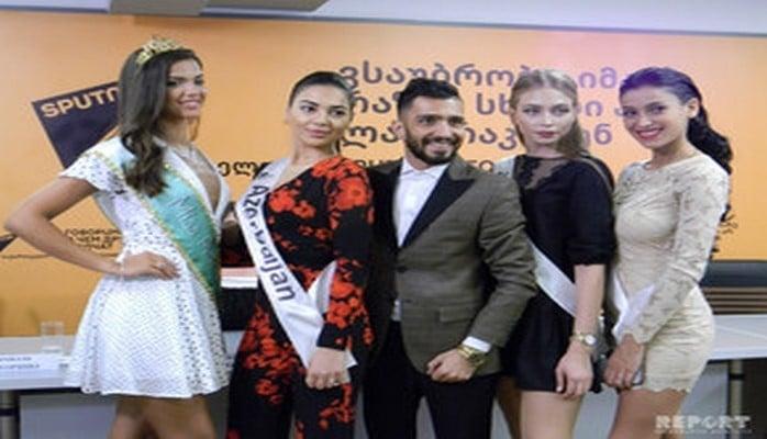 "Азербайджанская пара в Грузии поборется за титул ""Miss and Mister Planet - 2018"""