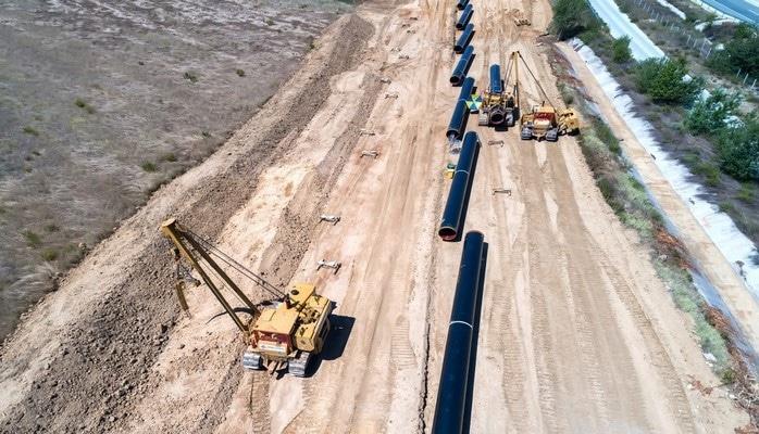 Строительство TAP завершено на 82%