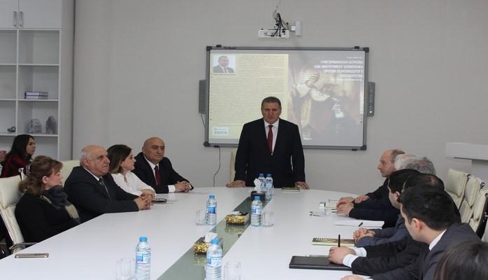 Prezident Administrasiyasının rəhbəri Ramiz Mehdiyevin kitabının təqdimatı keçirilib