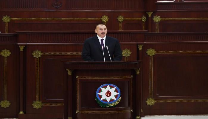 Президент Ильхам Алиев: Избрание Гейдара Алиева председателем азербайджанского парламента 15 июня 1993 года было поворотной точкой в современной истории