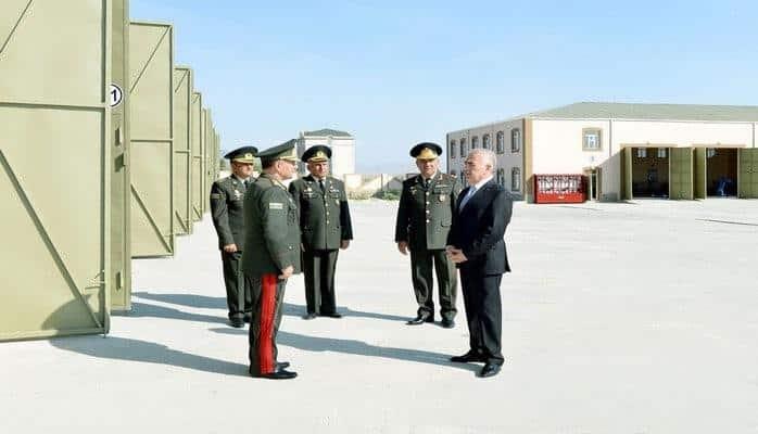 В Нахчыване открылась новая воинская часть