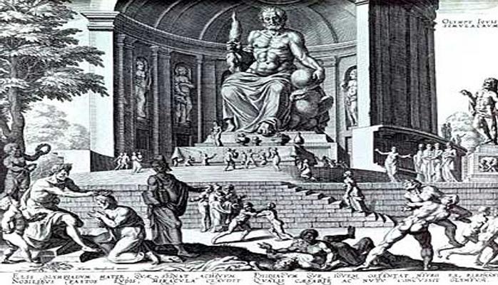 Olimpdə Zevsin heykəli