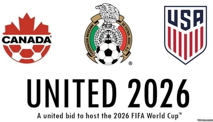 Futbol üzrə dünya çempionatı 2026-cı ildə ABŞ, Meksika və Kanadada olacaq