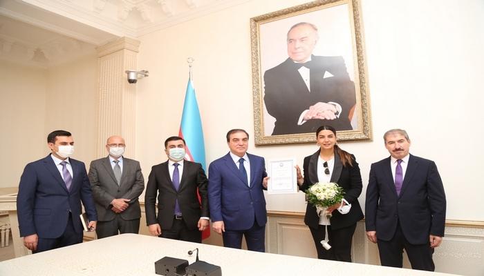 Fulya Öztürk Gəncədə