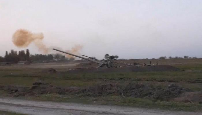 Gecə və gündüz artilleriya atışları