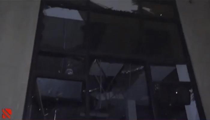Gəncəyə raket atıldı videogörüntü