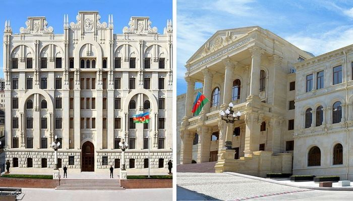 Генпрокуратура и МВД распространили информацию в связи с произошедшими перед зданием Милли Меджлиса событиями