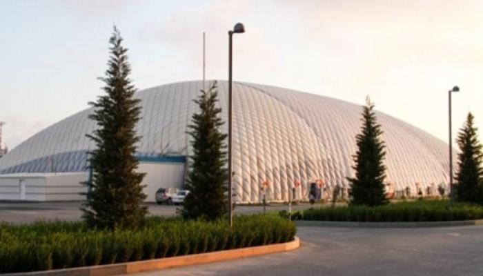 В Баку демонтируется вспомогательный зал Национальной арены гимнастики
