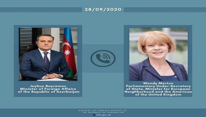 Глава МИД: Азербайджан осуществляет контрнаступление в рамках своих международно признанных границ