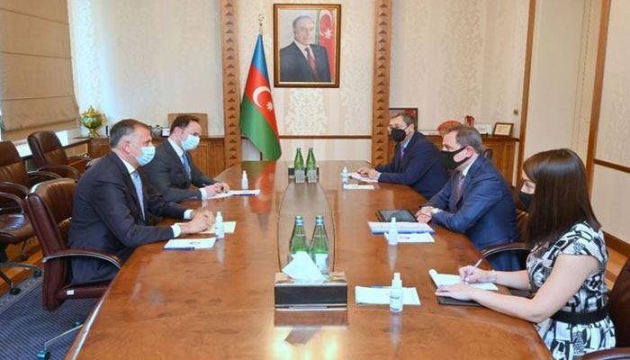 Глава МИД Азербайджана принял грузинского посла