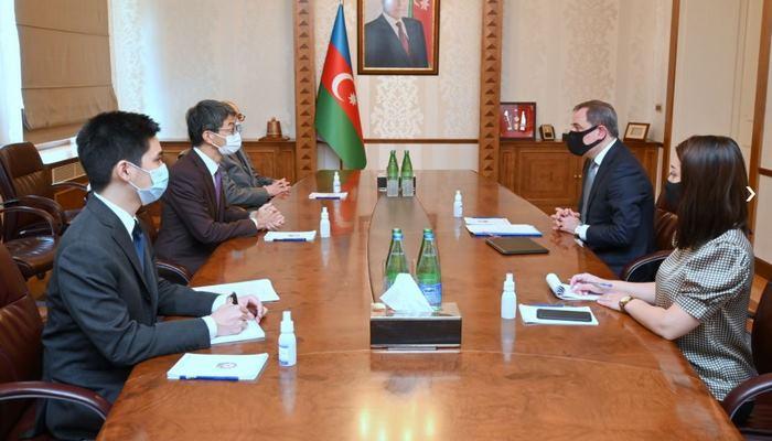 Глава МИД Азербайджана принял нового посла Японии