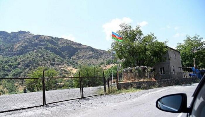 Azərbaycan Gorus-Qafan yolunda tikinti aparır
