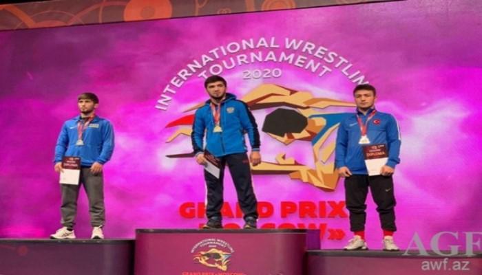 Güləşçilərimiz Moskva Qran-prisində medallar qazandı