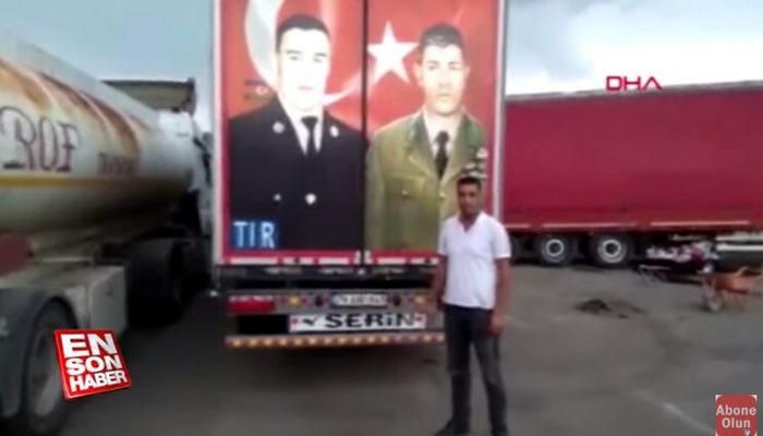 Gürcü polisi Mübarizin fotosunu sökmək istədi, Qardaş ölkə buna icazə vermədi