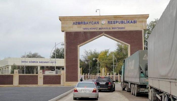 Gürcüstan-Azərbaycan sərhədi birtərəfli qaydada açılır