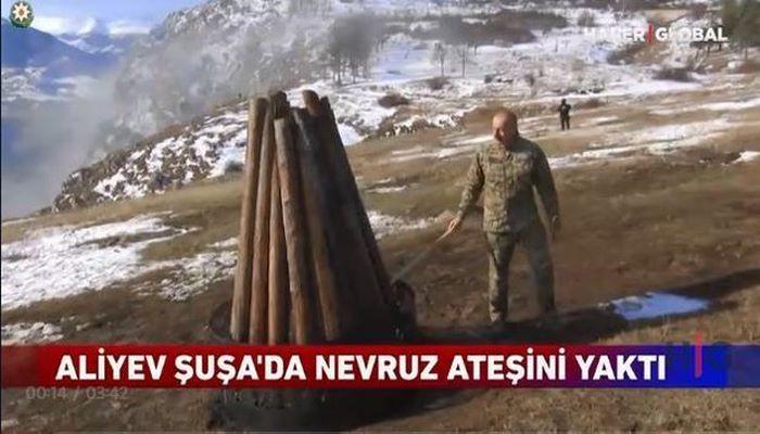 """""""Haber Global"""": """"Azərbaycan xalqı 28 illik aradan sonra Qarabağda Novruz bayramını qeyd etdi"""""""