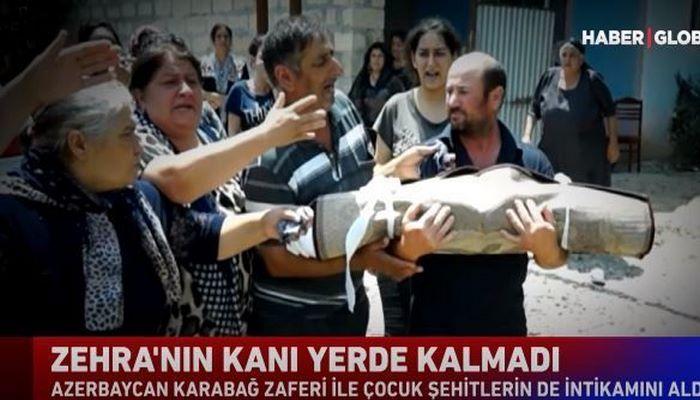 """""""Haber Global"""": Zəhranın qanı yerdə qalmadı"""