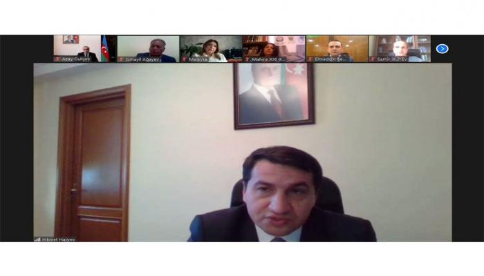 Помощник Президента встретился с НПО, осуществляющими деятельность в социальной, экономической, гуманитарной и демократической сферах