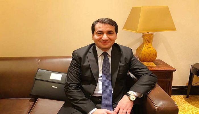 """Hikmət Hacıyev: """"Ermənilər Avropada COVID-19 yayırlar"""""""