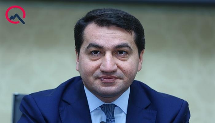 """Hikmət Hacıyev: """"Ermənistan hərbi cinayətlərini davam etdirir"""""""