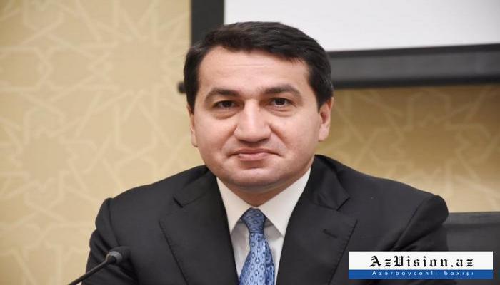 """Hikmət Hacıyev: """"Yumşalma prosesi başlayıb"""""""