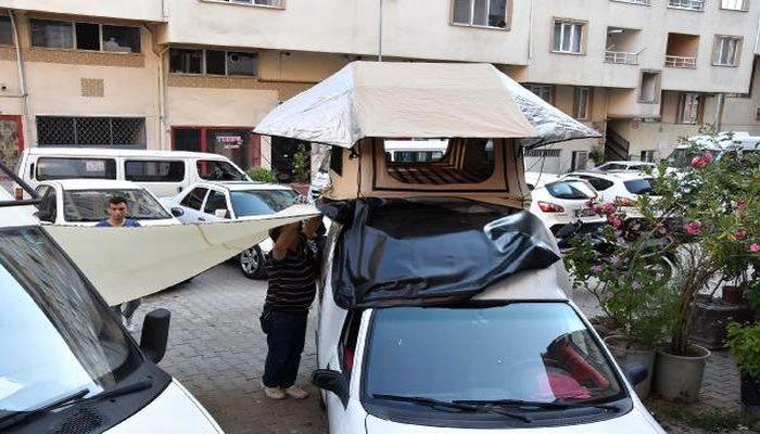 Hobi olarak ürettiği çadırları birçok ülkeye ihraç ediyor