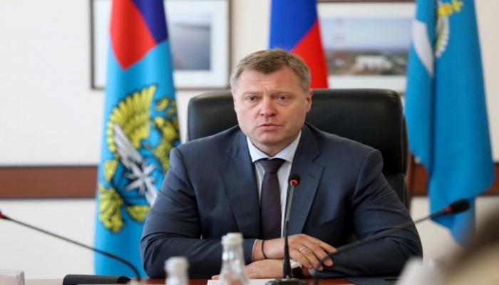 Губернатор Астраханской области РФ поздравил Первого вице-президента Мехрибан Алиеву по случаю дня рождения