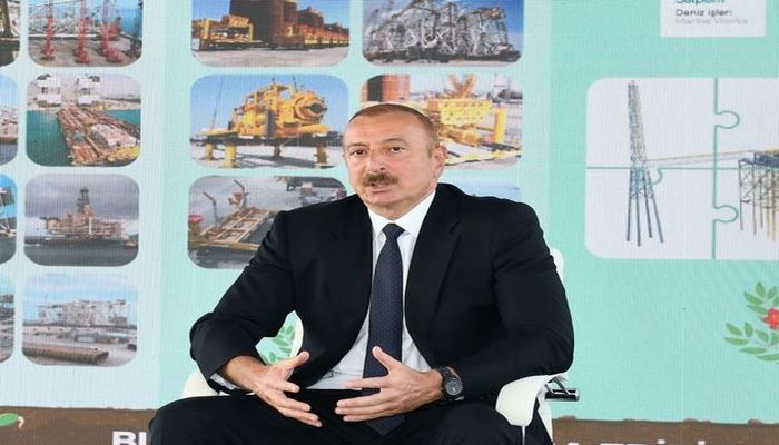 """İlham Əliyev: """"Abşeron"""" qaz-kondensat yatağının yeni mərhələsi başlayır"""""""