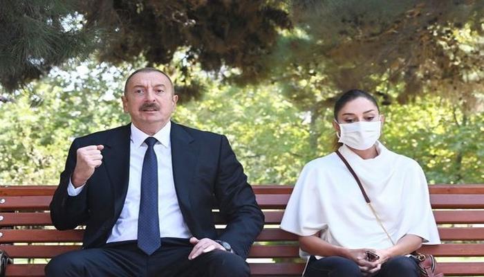 """İlham Əliyev: """"Azərbaycan əsgəri, Azərbaycan zabiti öz vətəndaşlıq borcunu şərəflə yerinə yetirir"""""""