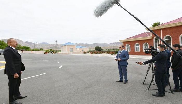 İlham Əliyev Azərbaycan Televiziyasına müsahibə verib - TAM MƏTN