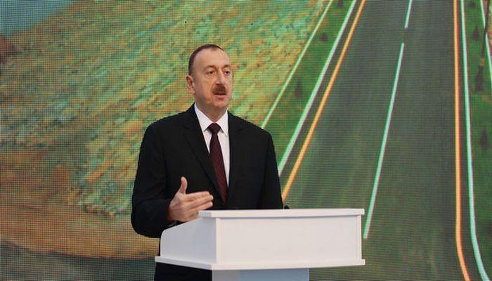 """İlham Əliyev """"Azərxalça"""" ASC-nin Naxçıvan filialının açılışında iştirak edib"""