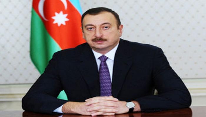 """İlham Əliyev bir qrup hərbçini """"İgidliyə görə"""" medalı ilə təltif etdi"""