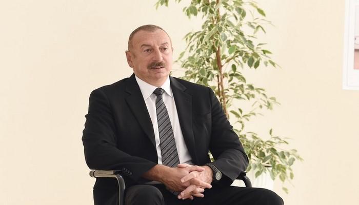 """İlham Əliyev: """"Ermənistan bu günə qədər öz itkiləri haqqında məlumat vermir"""""""