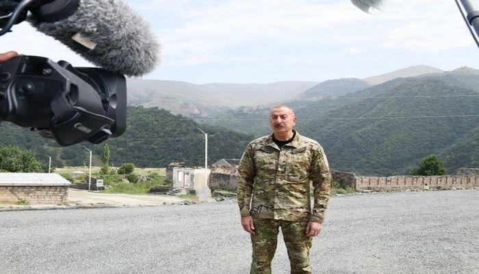 """İlham Əliyev: """"Ermənistanın məqsədi torpaqlarımızı əbədi işğal altında saxlamaq idi"""""""