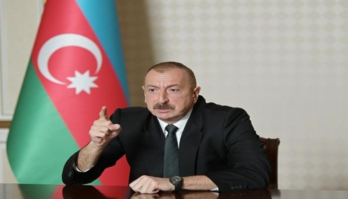 """İlham Əliyev: """"Hər hansı bir qisas cəhdi Azərbaycan tərəfindən ciddi şəkildə cəzalandırılacaq"""""""