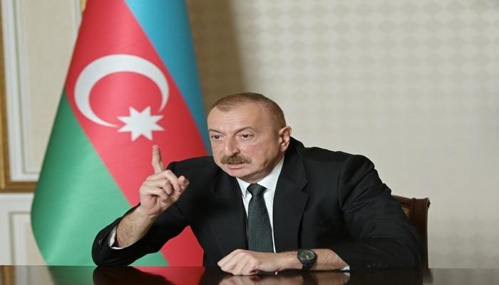 """İlham Əliyev iranlı jurnalistə irad bildirdi: """"Dediyinizin arxasında durmalısınız"""""""