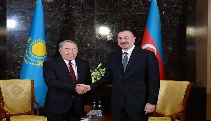 İlham Əliyev Nazarbayevlə DANIŞDI