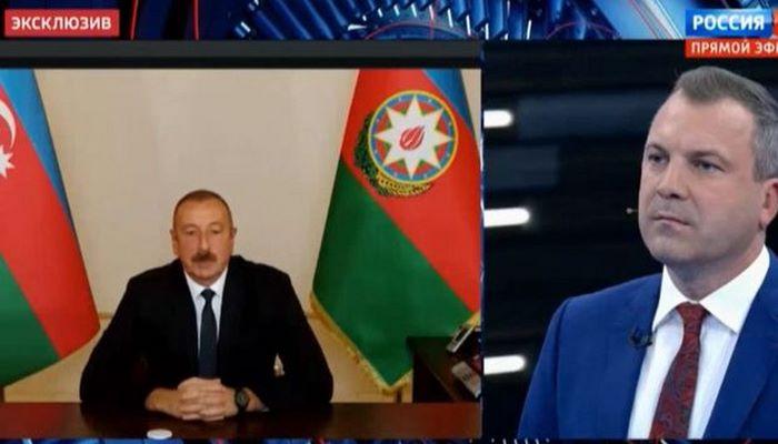 """İlham Əliyev Paşinyanı """"öz meydanında"""" məğlub etdi - Rusiya telekanalında müharibə debatına sözardı"""